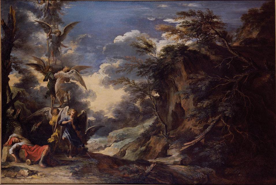 Salvator Rosa,  Jacob's Dream ,   1665.