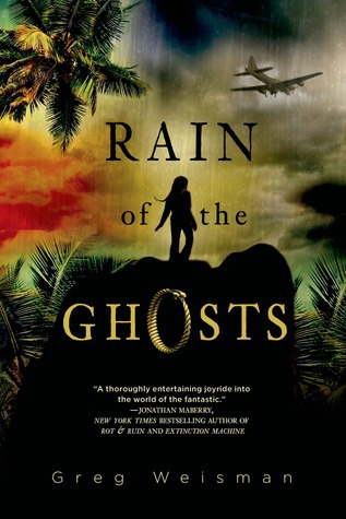 Young Adult book Rain of Ghosts by Greg Weisman