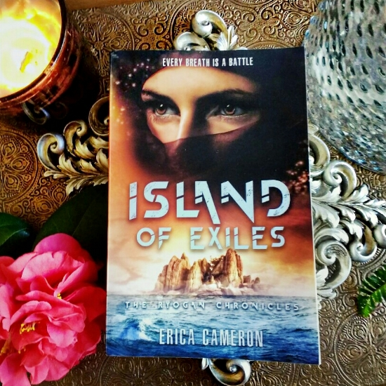 Island of Exiles by Erica Cameron image taken by Book Swoon