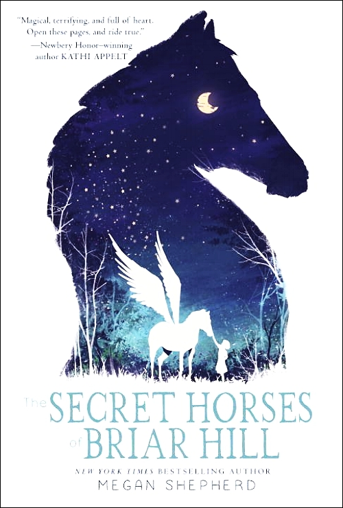 The Secret Horses of Briar Hill Book Cover