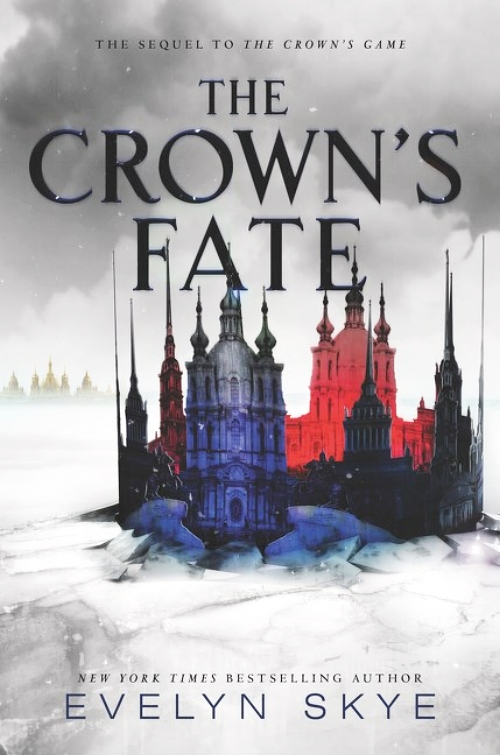 The Crown's Fate by Evelyn Skye Book Cover