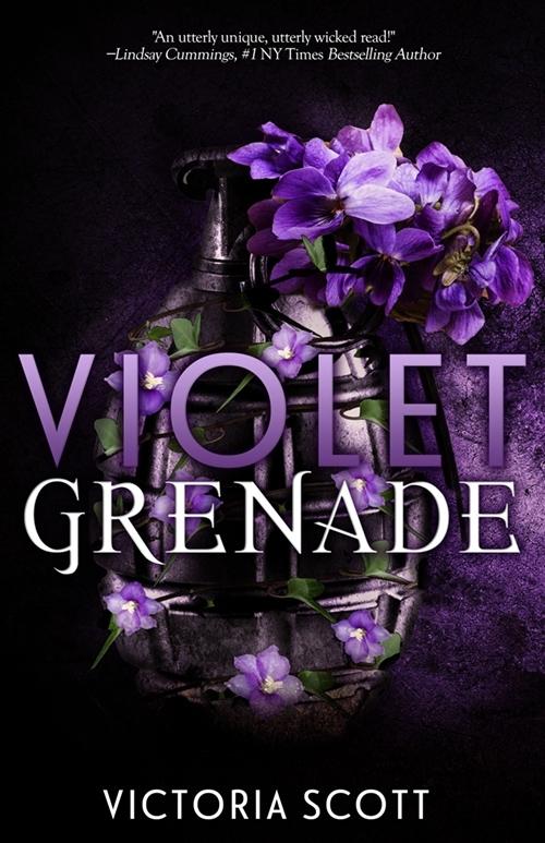 Violet Grenade by Victoria Scott Book Cover