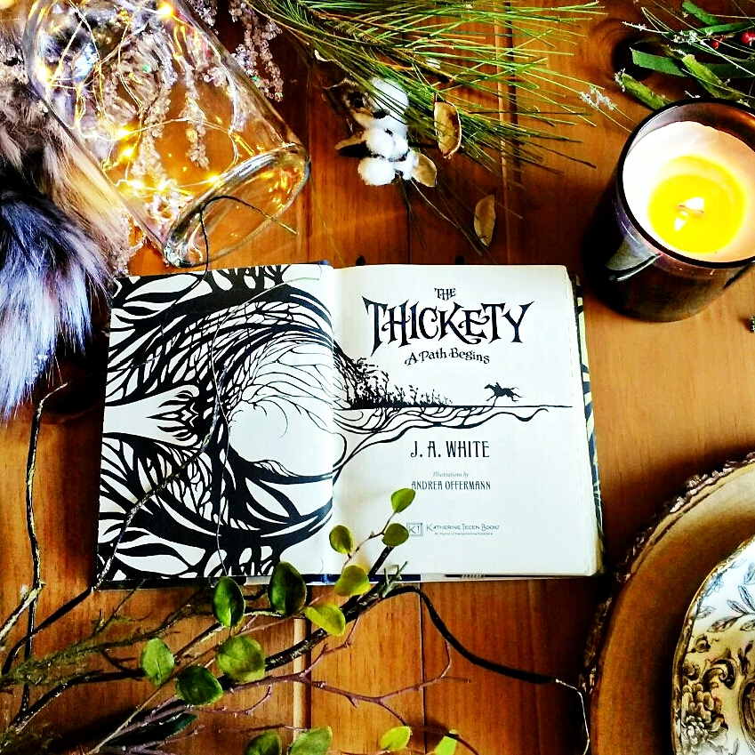 The Thickety: A Path Begins by J. A. White image take Book Swoon