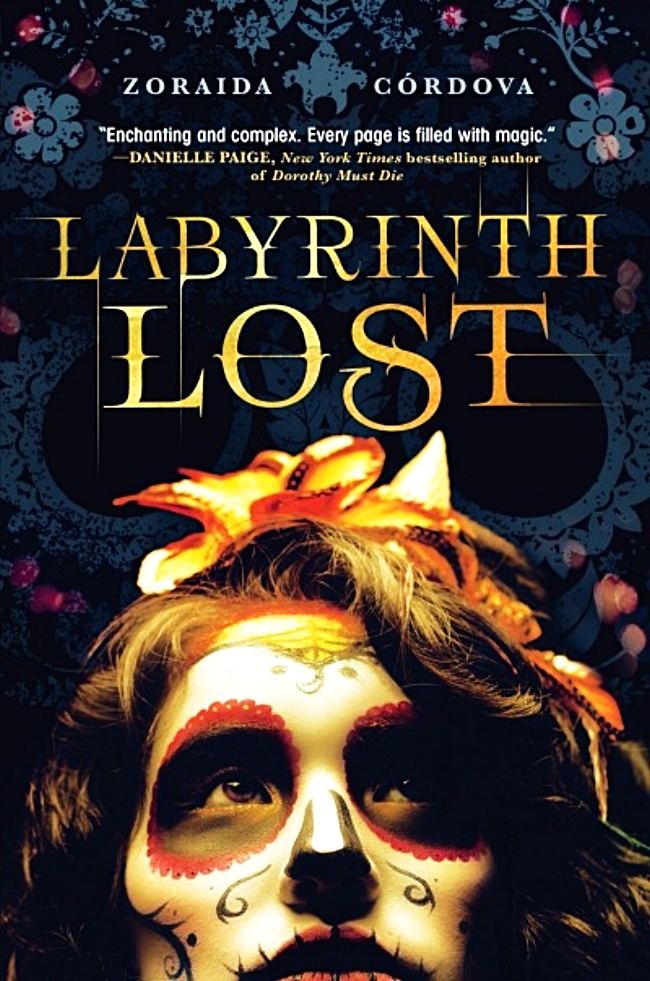 Labyrinth Lost by Zoraida Cordova Book Cover