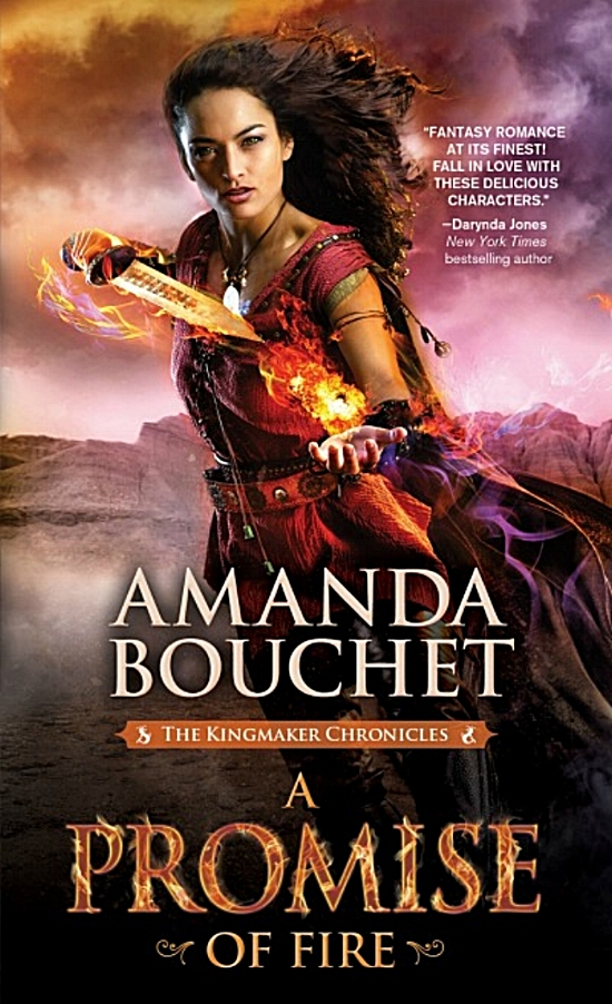 A Promise of Fire by Amanda Bouchet Book Cover