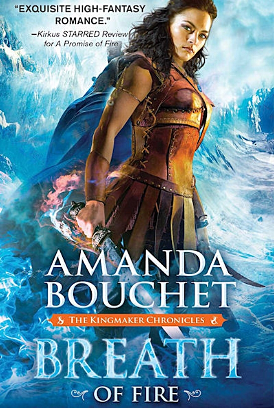 Breath of Fire by Amanda Bouchet Book Cover
