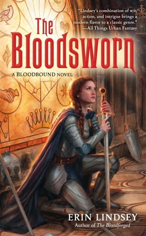 The Bloodsworn by Erin Lindsey Book Cover