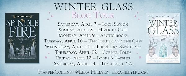 Winter Glass by Lexa Hillyer Blog Tour Graphic
