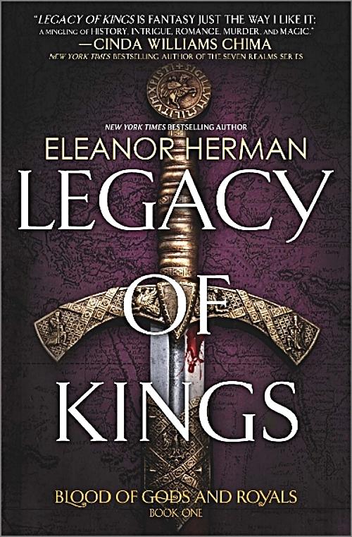 Legacy of Kings by Eleanor Herman Book Cover