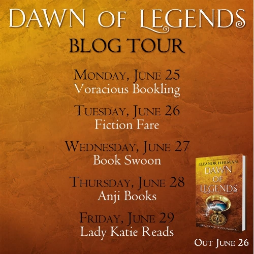 Dawn of Legends by Eleanor Herman Blog Tour