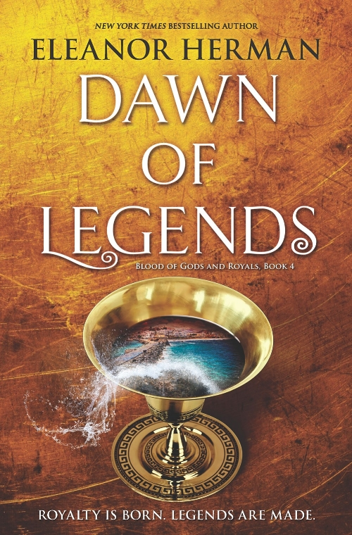 Dawn of Legends by Eleanor Herman Book Cover