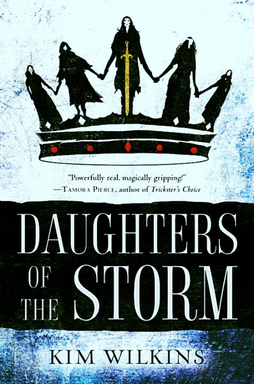 Daughters of the Storm by Kim Wilkins Book Cover