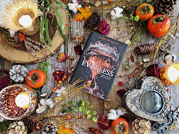Everless by Sara Holland, image taken by Book Swoon.
