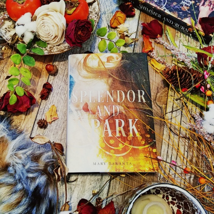 Splendor and Spark by Mary Taranta. Book #2 in the Shimmer and Burn Series. Image by taken by Book Swoon.