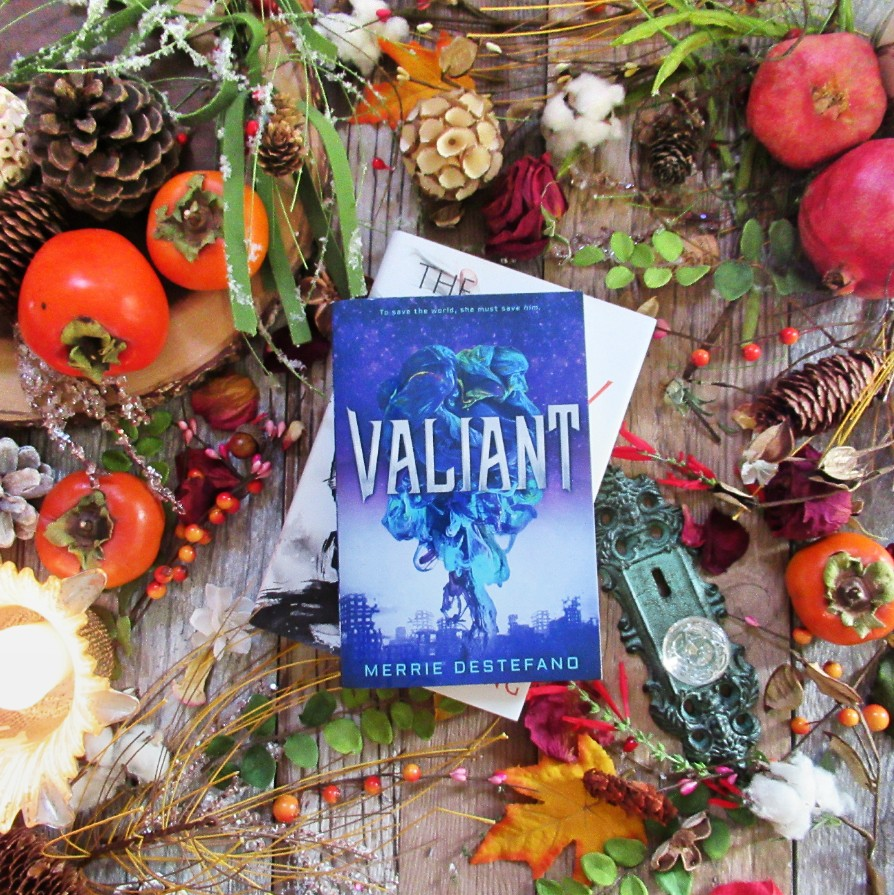 Valiant by Merrie Destefano, image taken by Book Swoon.