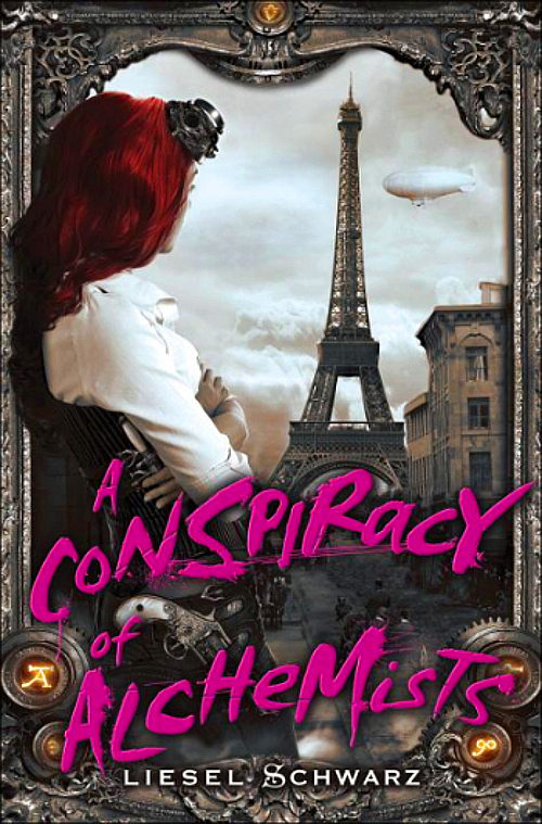 A Conspiracry of Alchemists by Liesel Schwarz Book Cover