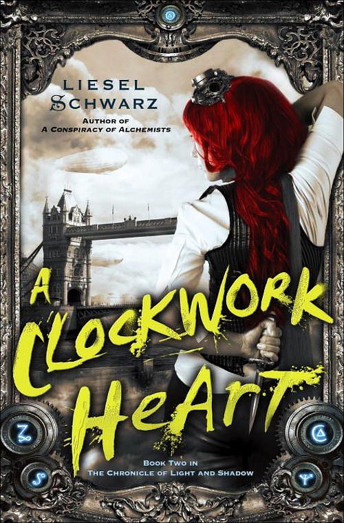 A Clockwork Heart by Liesel Schwarz Book Cover
