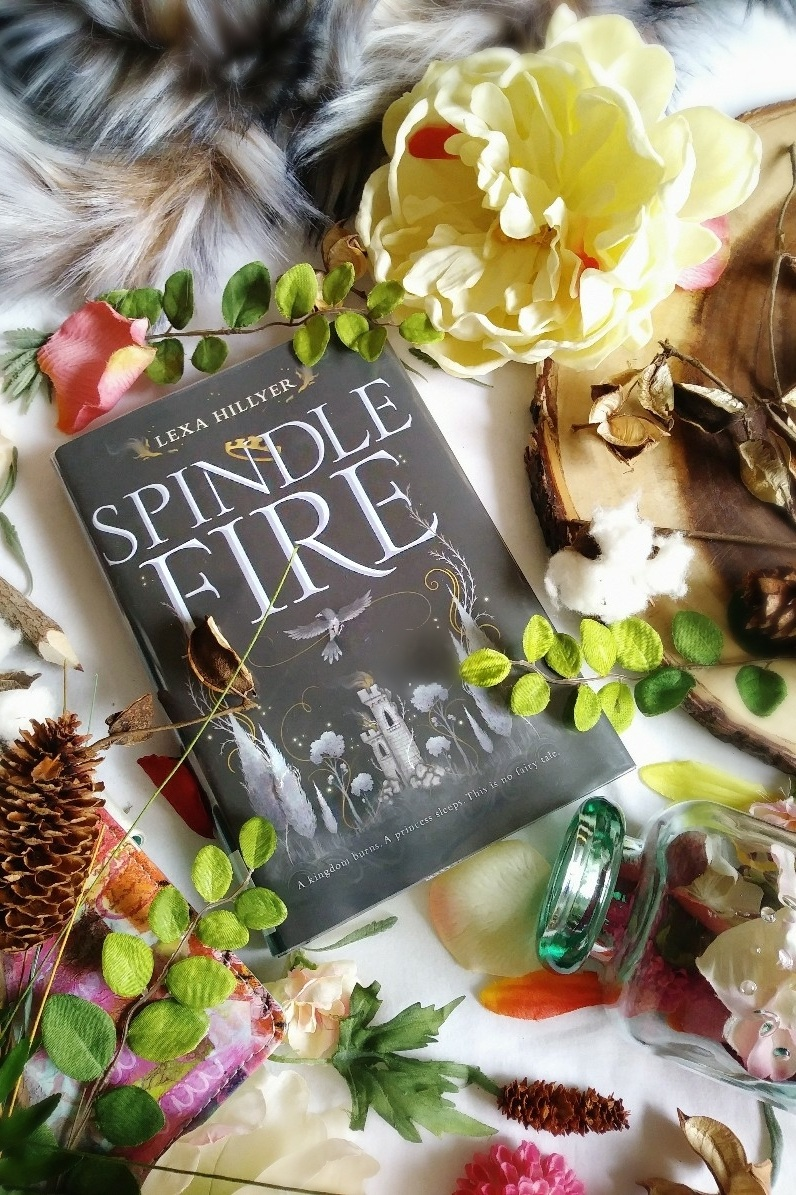 Spindle Fire by Lexa Hillyer image and book review by Book Swoon.