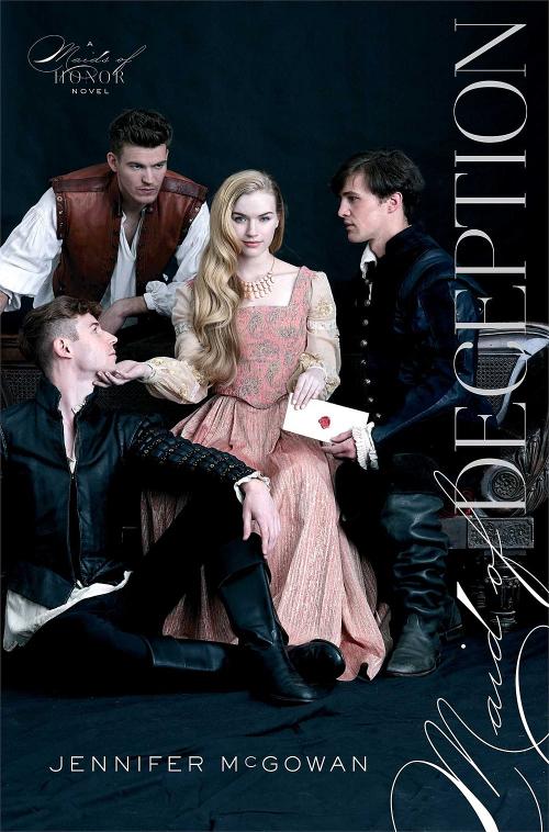 Maid of Deception by Jennifer McGowan Book Cover.jpg
