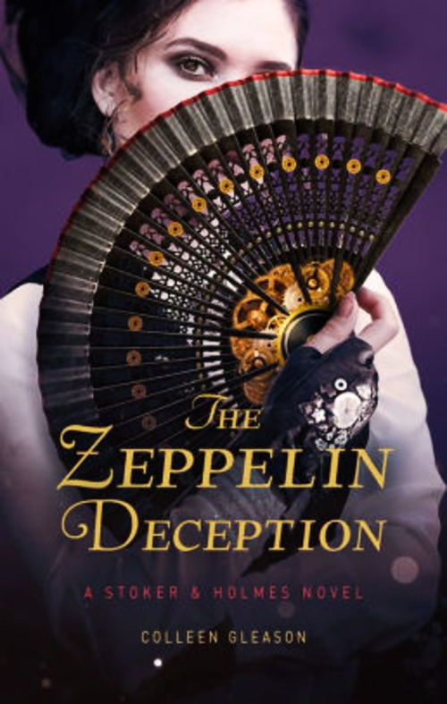 The Zeppelin Deception by Colleen Gleason Book Cover.jpg