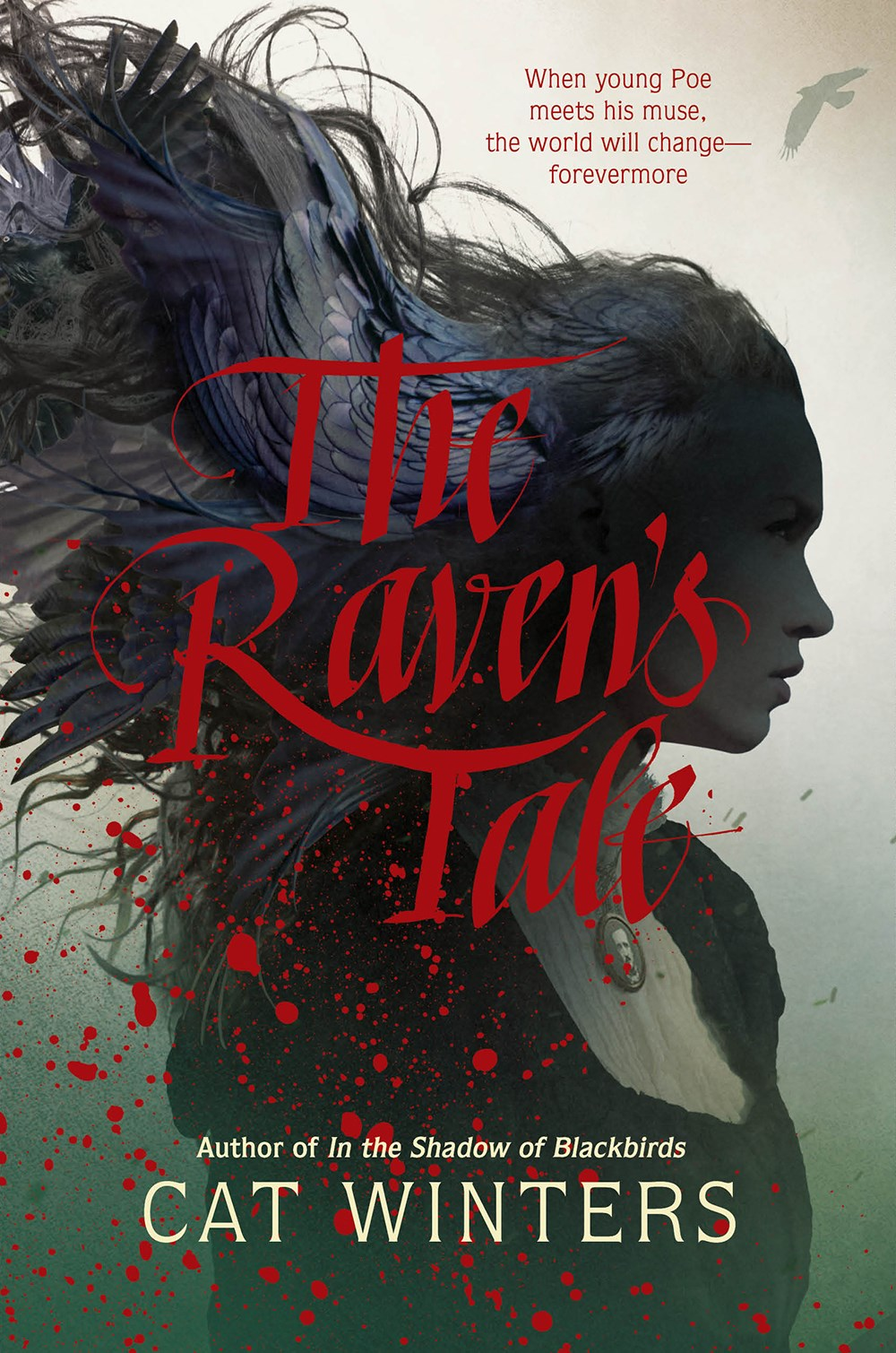 The Raven's Tale by by Cat Winters Book Cover