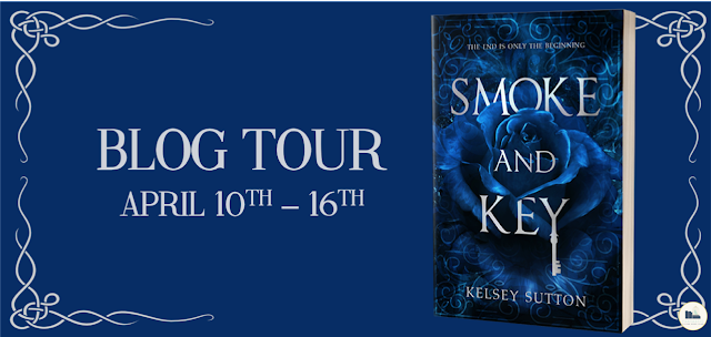 Smoke and Key by Kelsey Sutton Blog Tour Banner.png