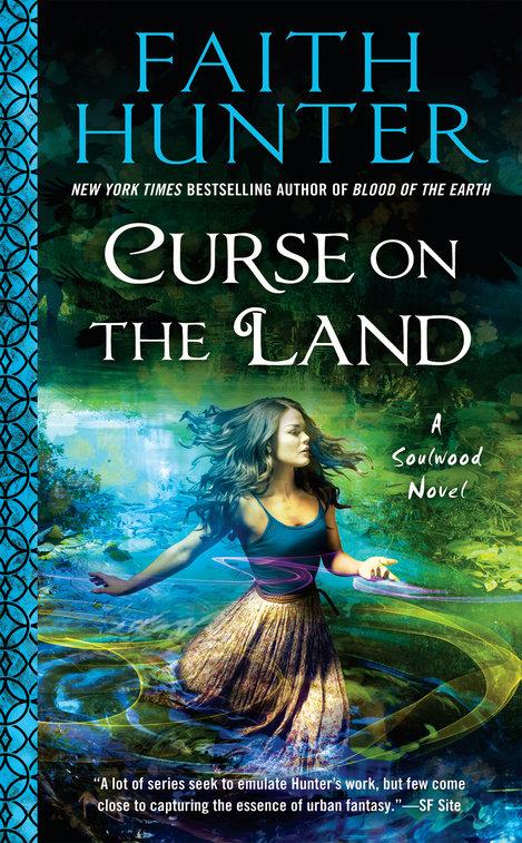 Curse on the Land by Faith Hunter Book Cover