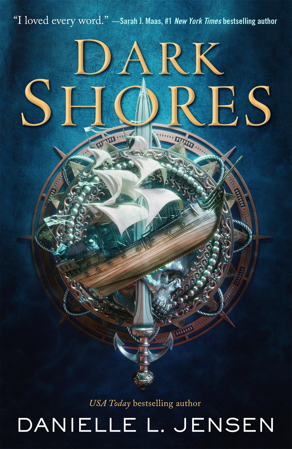 Dark Shores by Danielle L. Jensen Book Cover