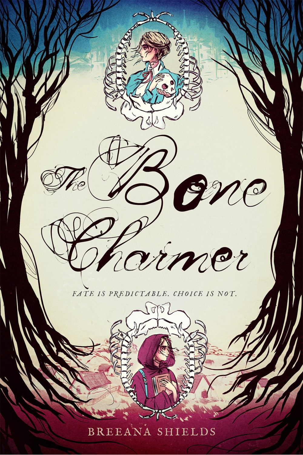 The Bone Charmer by Breena Shields Book Cover