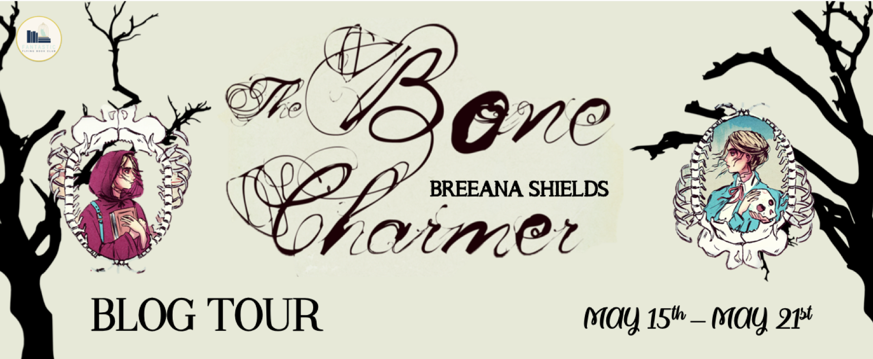 The Bone Charmer by Breena Shields Blog Tour Banner