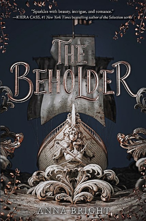 The Beholder by Anna Bright Book Cover