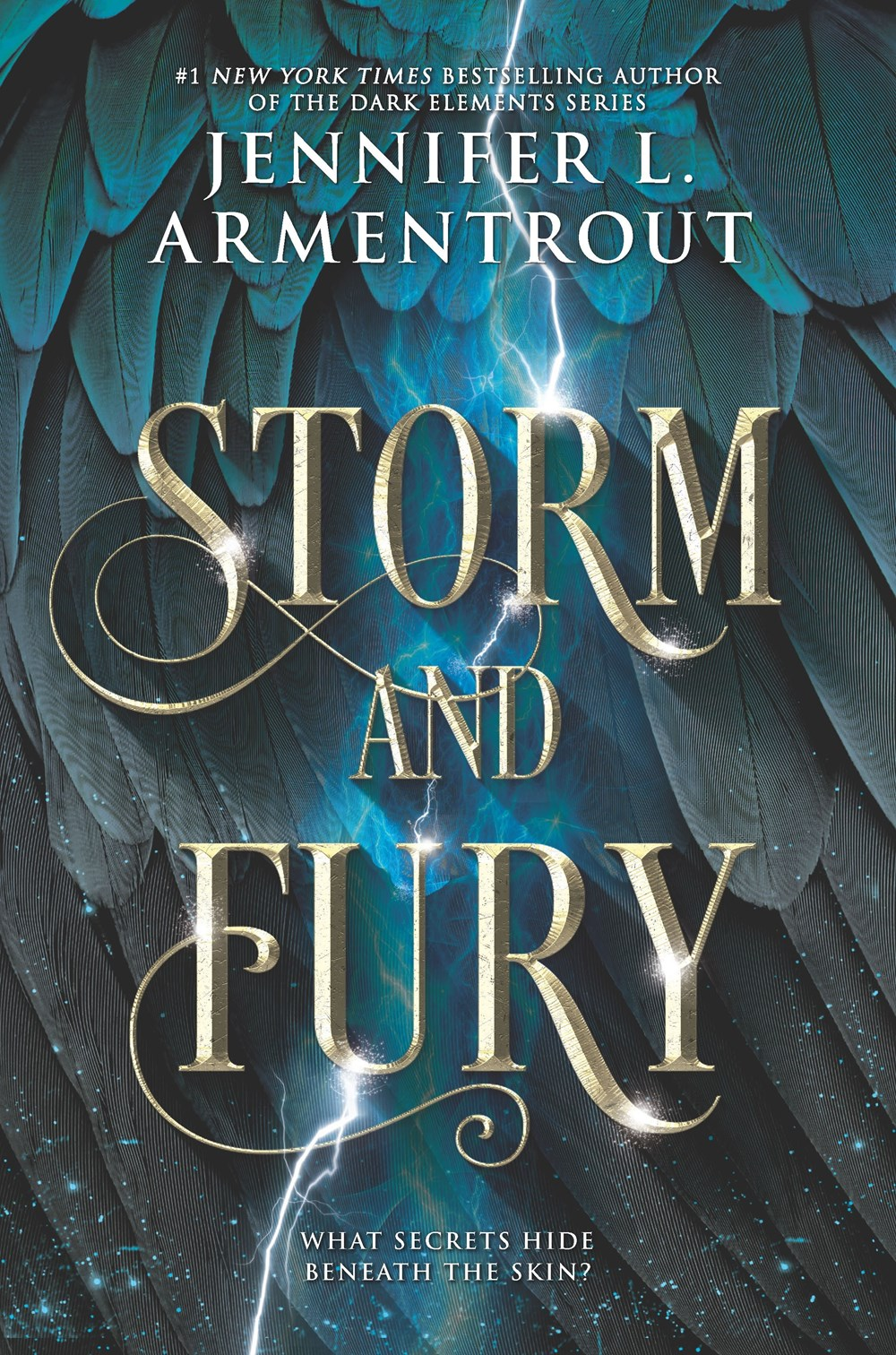 Storm and Fury by Jennifer L. Armentrout Book Cover