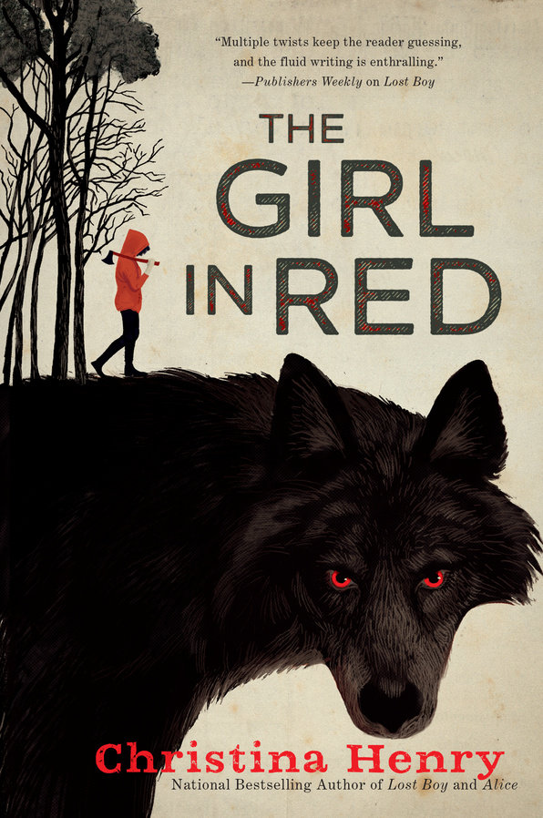 The Girl in Red by Christina Henry Book Cover