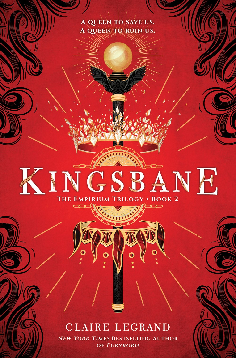 Kingsbane by Claire Legrand Book Cover