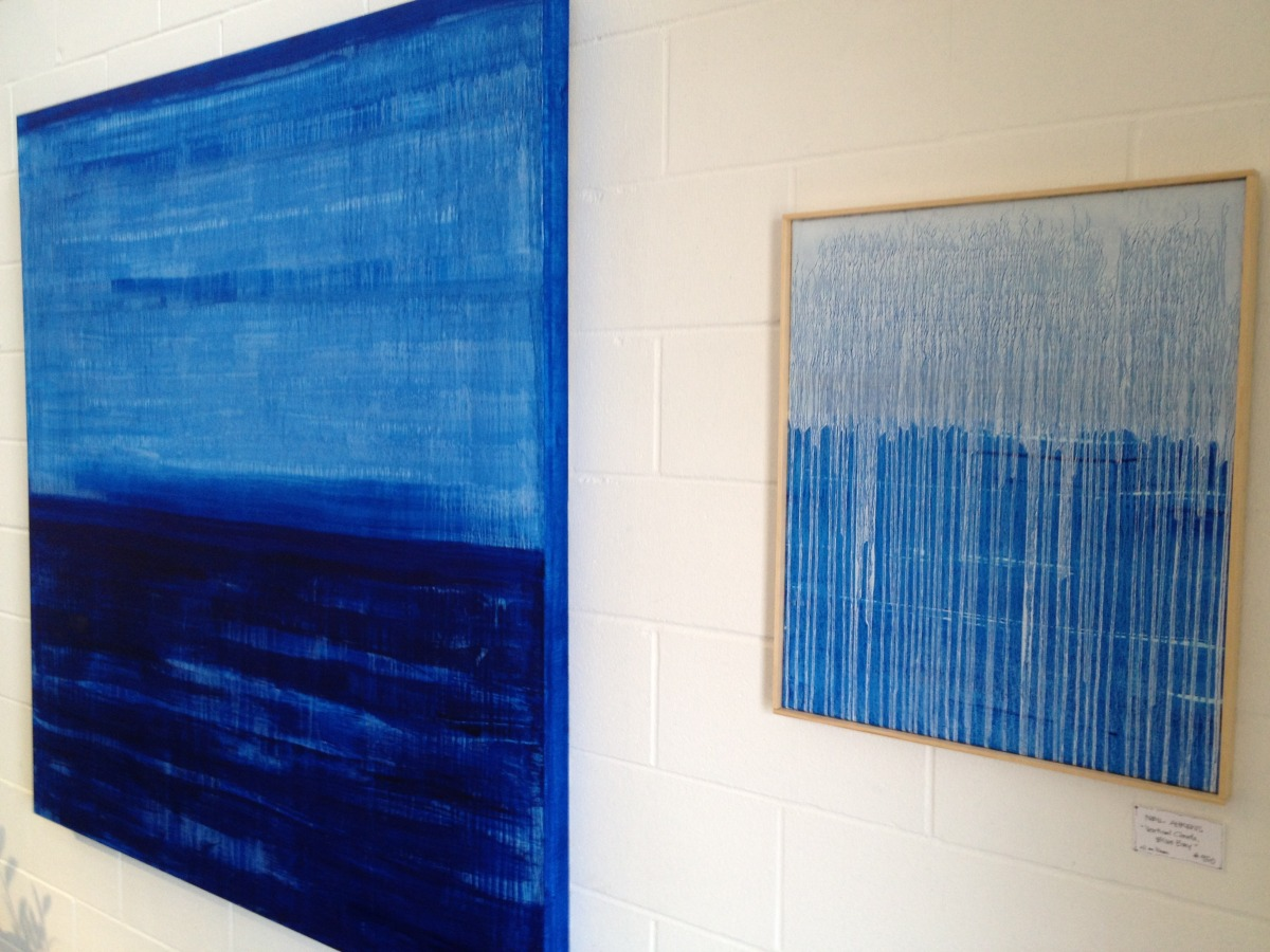 One wall in my Summer 2012 show at Rau Art & Design, Harbor Springs