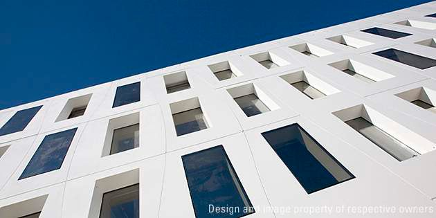 Seeko'o Hotel, Bordeaux, France.  Project by Atelier King Kong; Photo Arthur Pequin