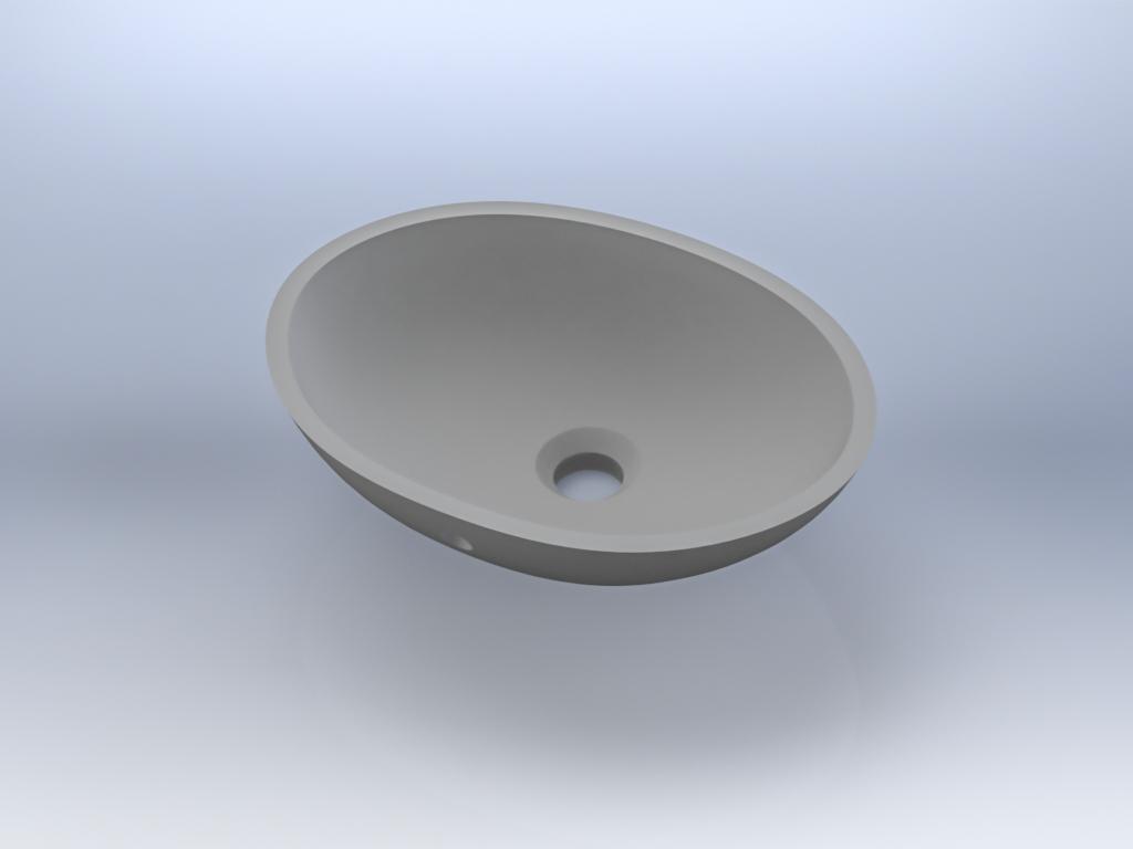 SS-820-ADA  - Small classic oval,ADA compliant.