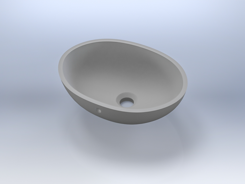 SS-820  - Small classic oval.