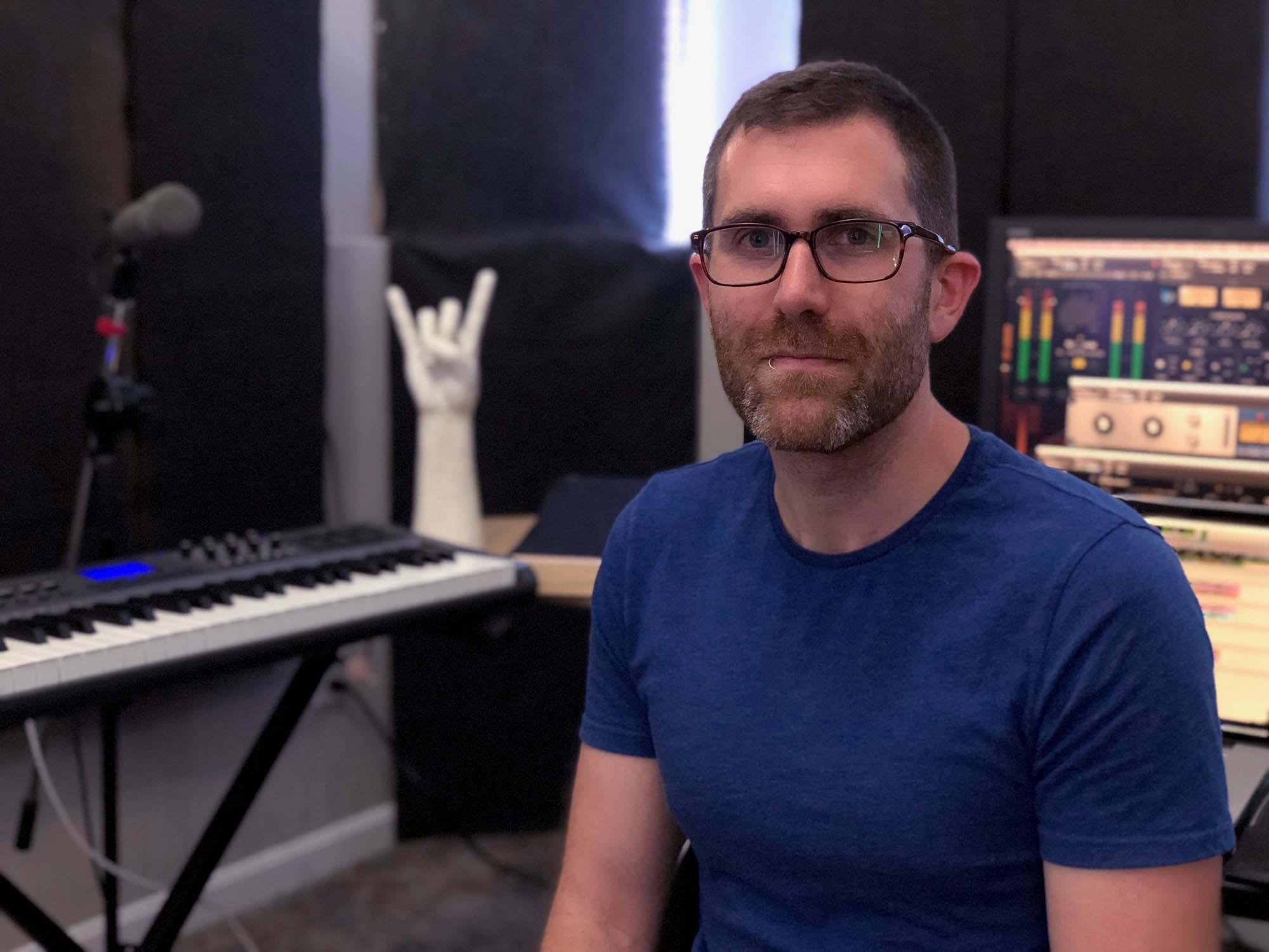 Hi! I'm Justin, - an audio engineer in Cincinnati, Ohio.
