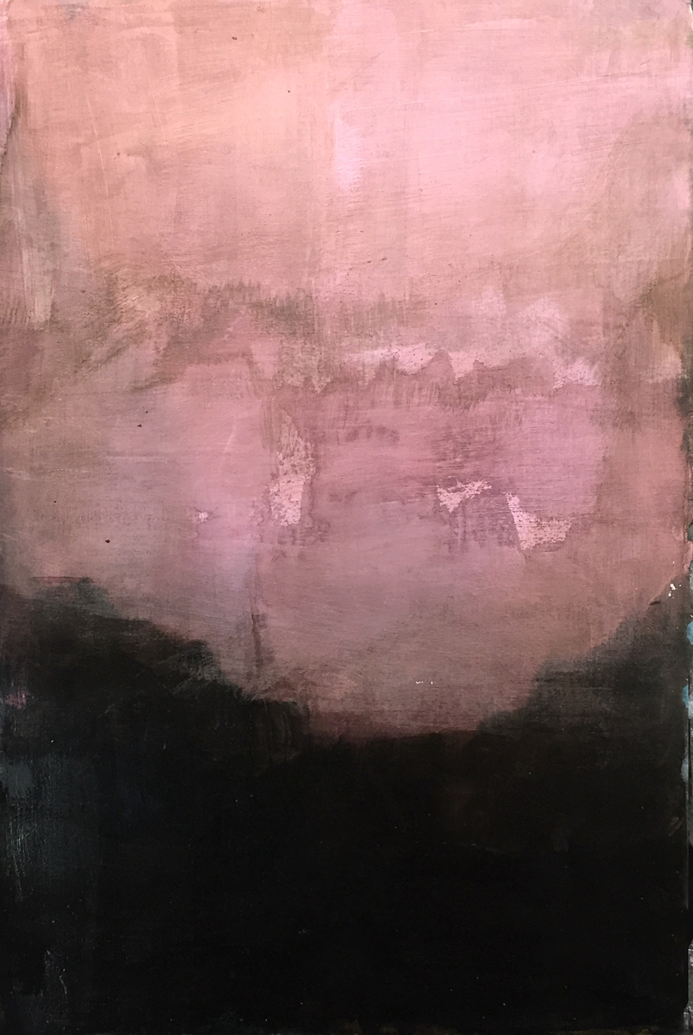 """Alliteration #6 22"""" x 16"""" Sumin ink, acrylic on paper $335"""