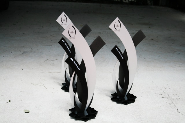 Just completed the 2013 property council hall of fame trophies. The inductees are still to be announced so this is what they looked like last year.