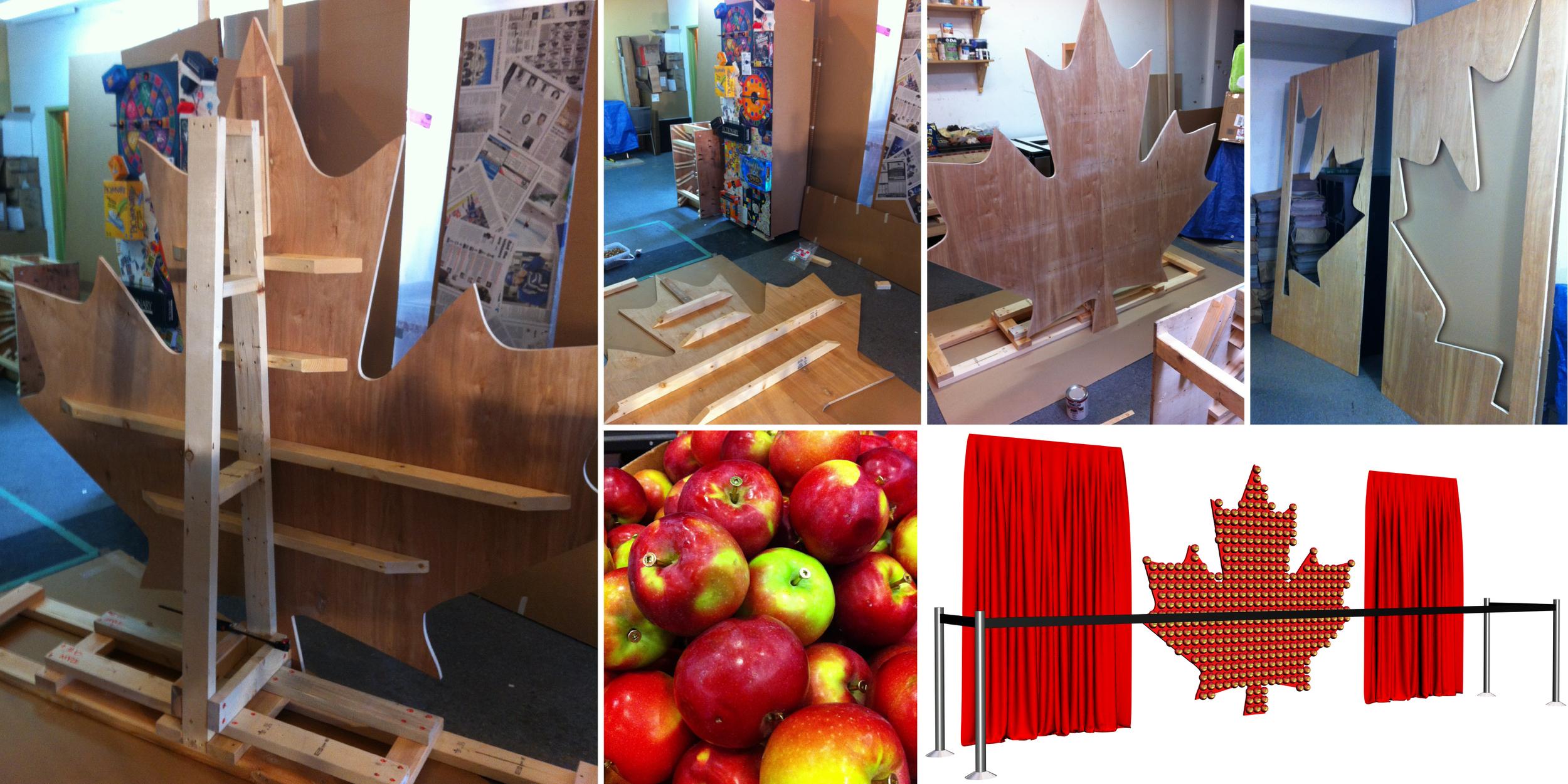 McIntosh Apple exhibit – Work in progress