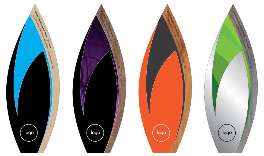 custom eco trophy - sustainable materials - andrew watson design 2