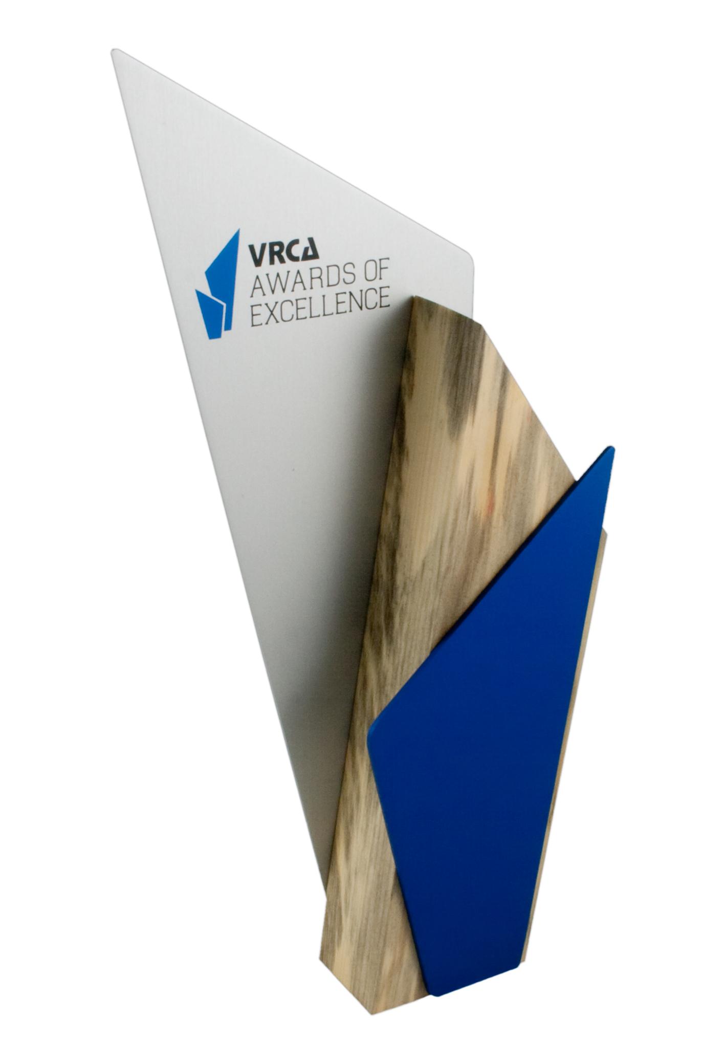 VRCA Awards of Excellence - Custom Award Design
