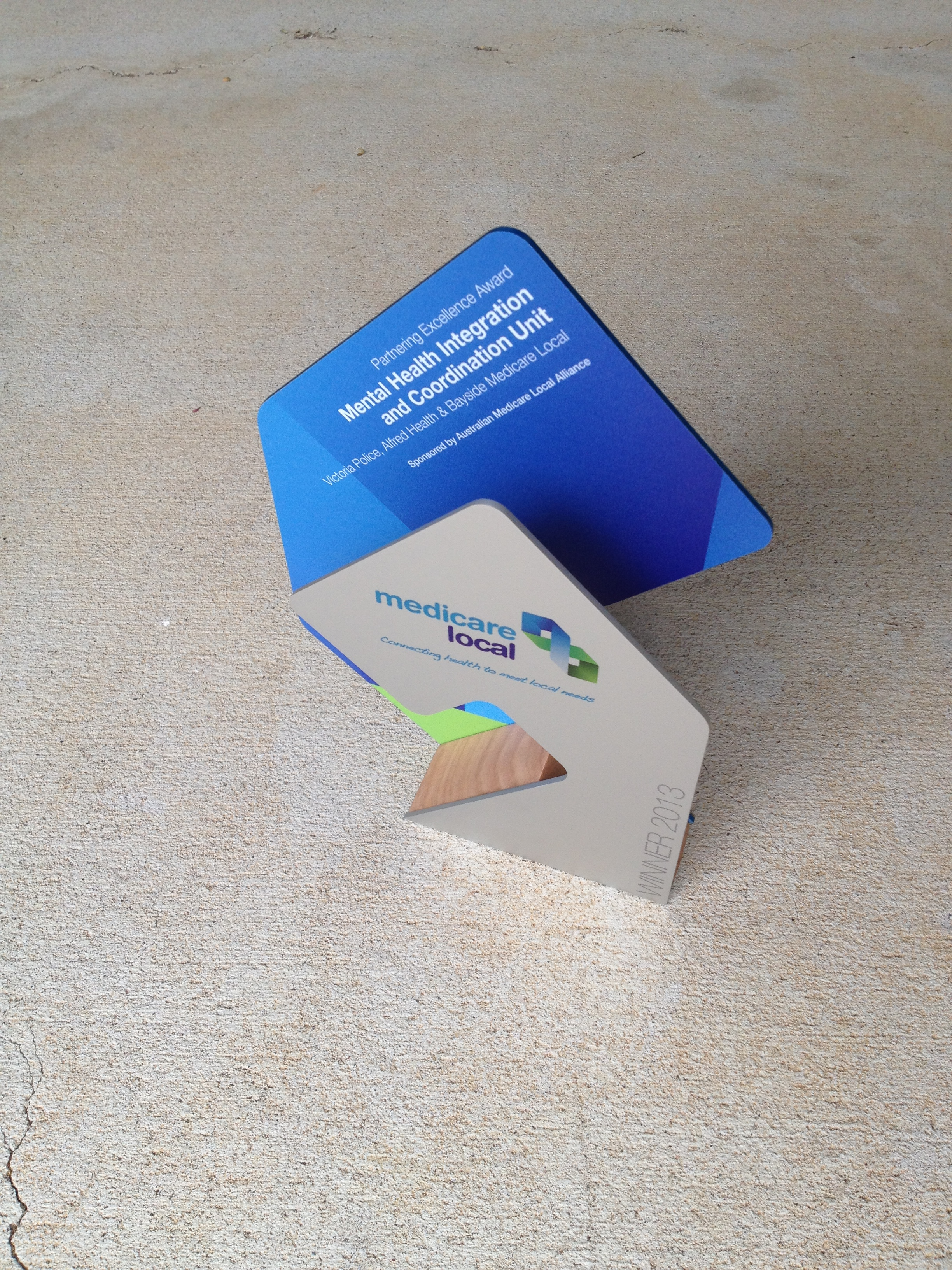 Medicare Local Awards - Custom Trophies