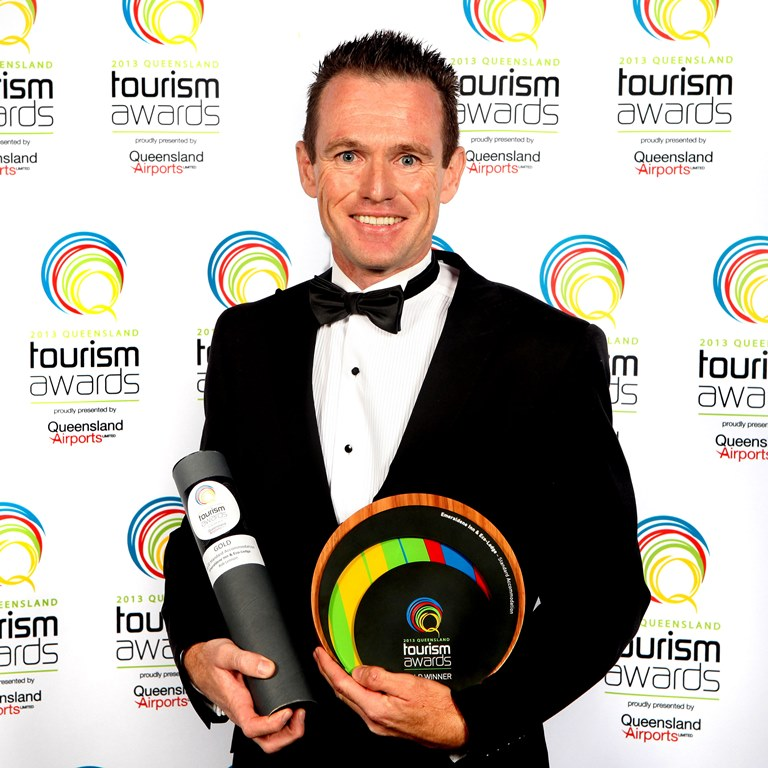 queensland tourism awards trophy