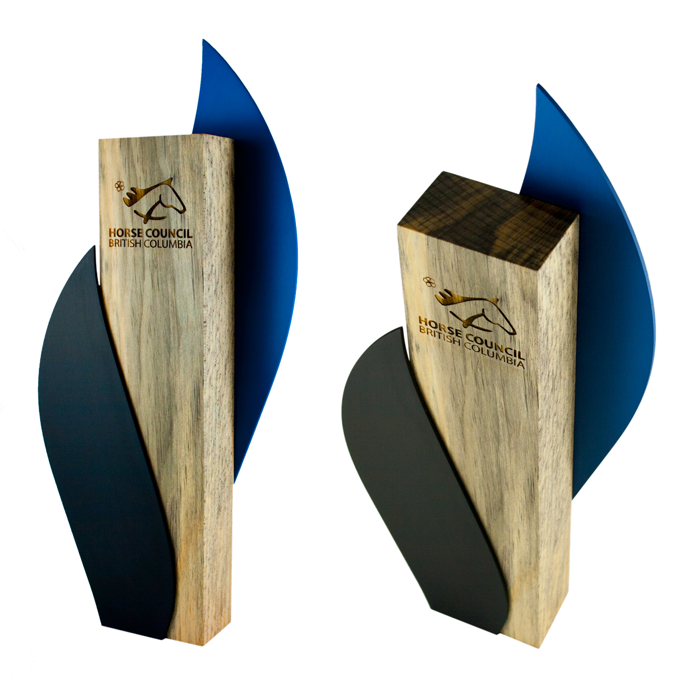 horse council of british columbia - custom eco-friendly award design