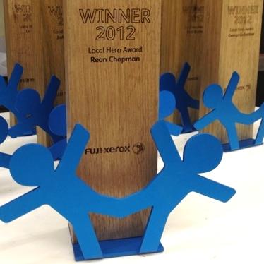 fuji xerox awards eco sustainable
