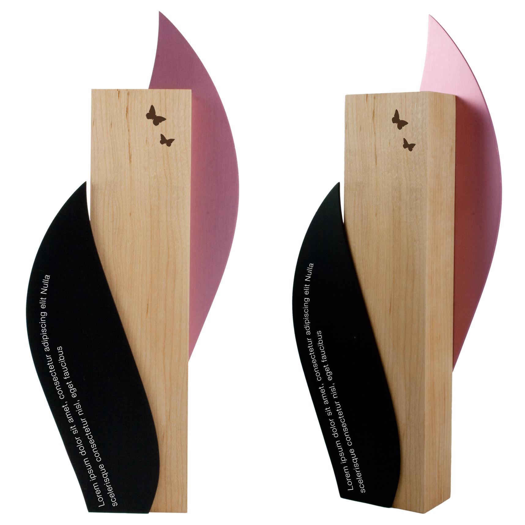 wood eco award custom