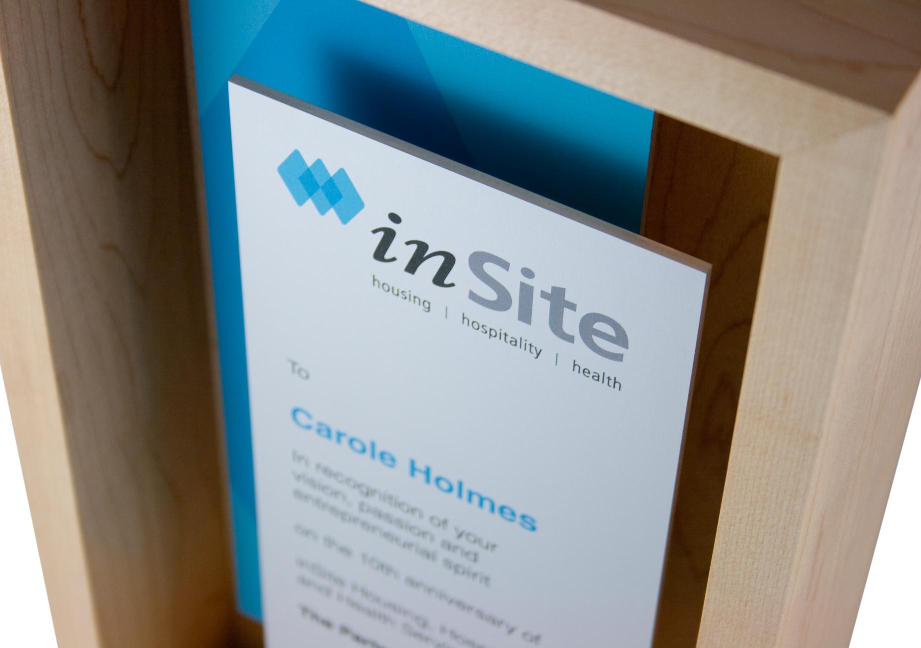 insite - modern trophies & award design